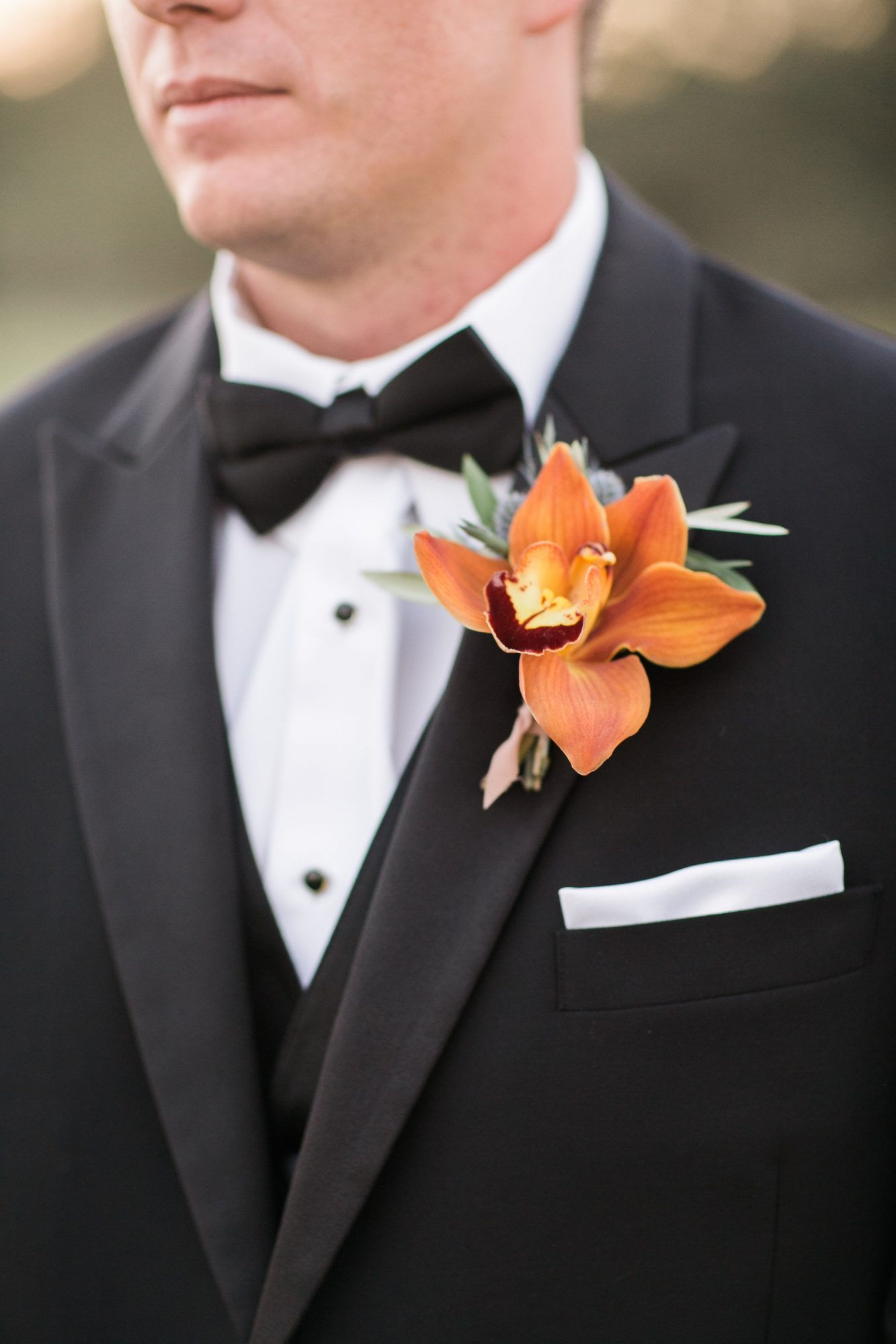 Classic Yet Lively Groom Attire