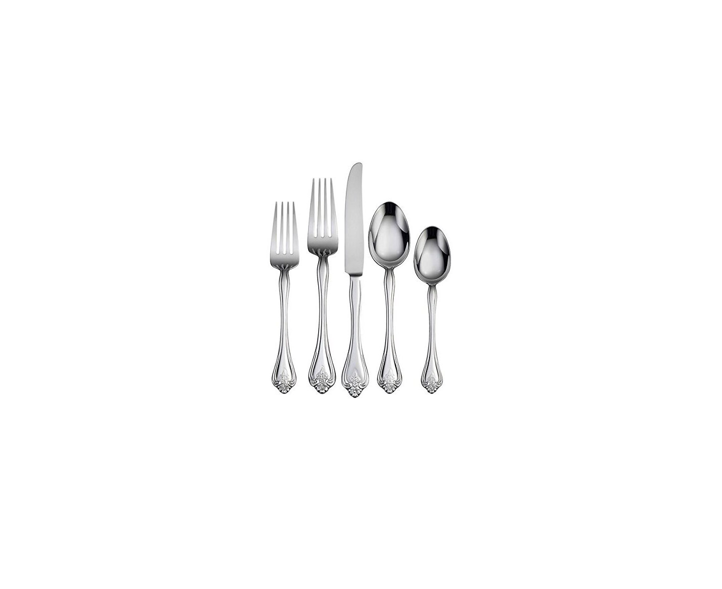 Oneida Boutonniere 30-Piece Flatware, Service for 6