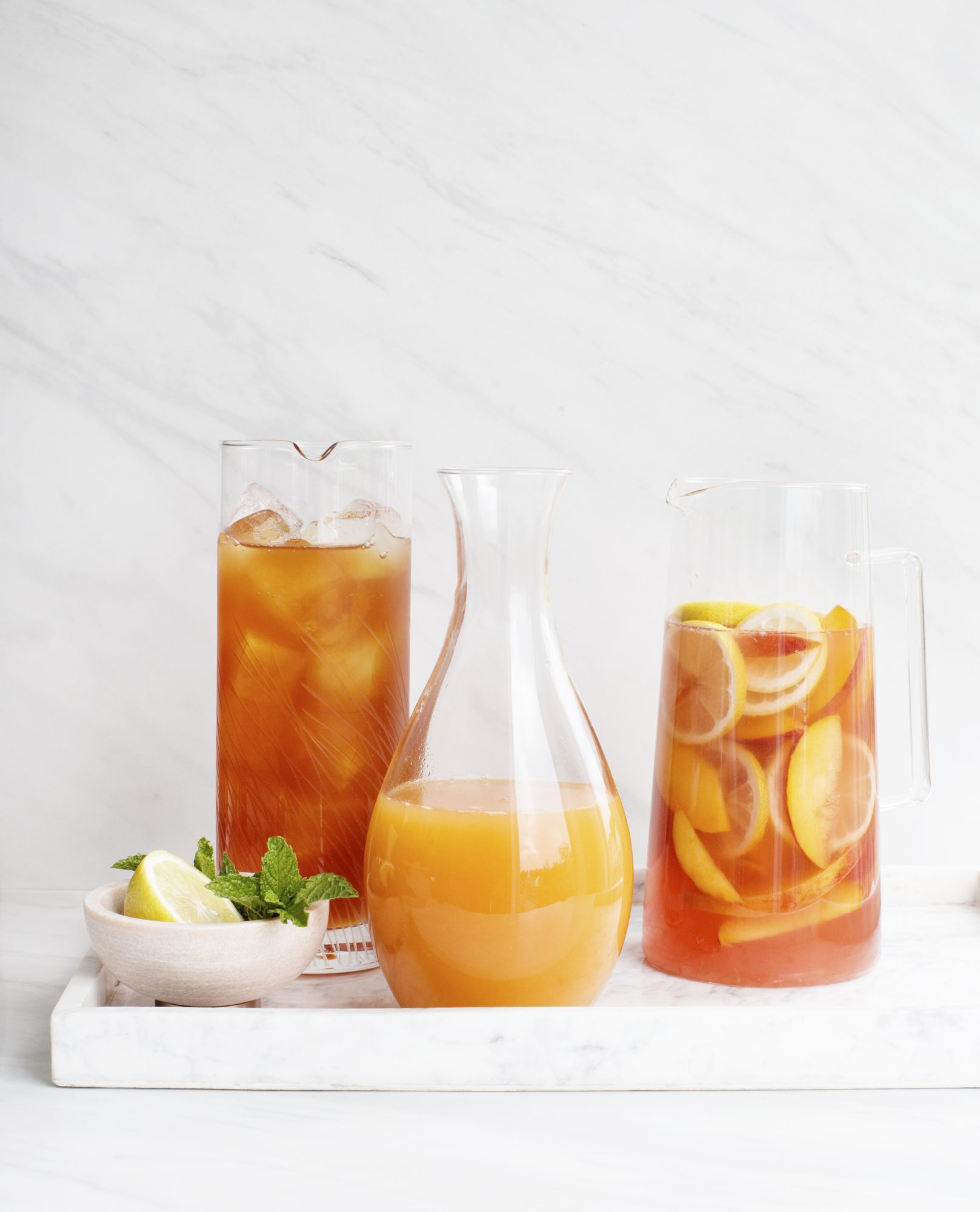 Peach Truck Pitchers - Peach Sweet Tea