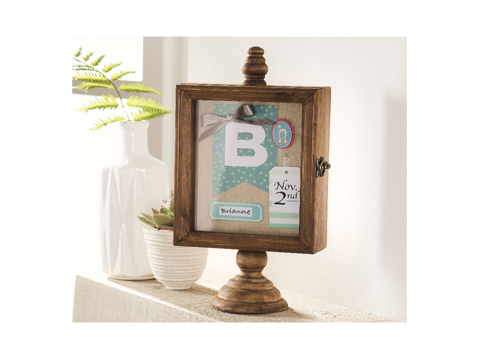 Better Homes & Gardens Tabletop Wood Shadowbox