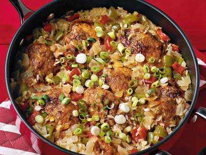 Sweet-and-Sour Chicken and Rice