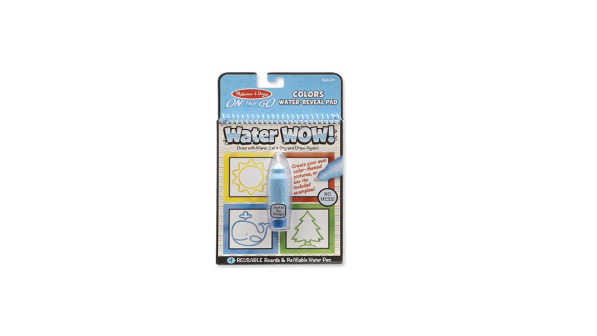 Car Safe Crafts: Melissa & Doug Water Wow Coloring Books