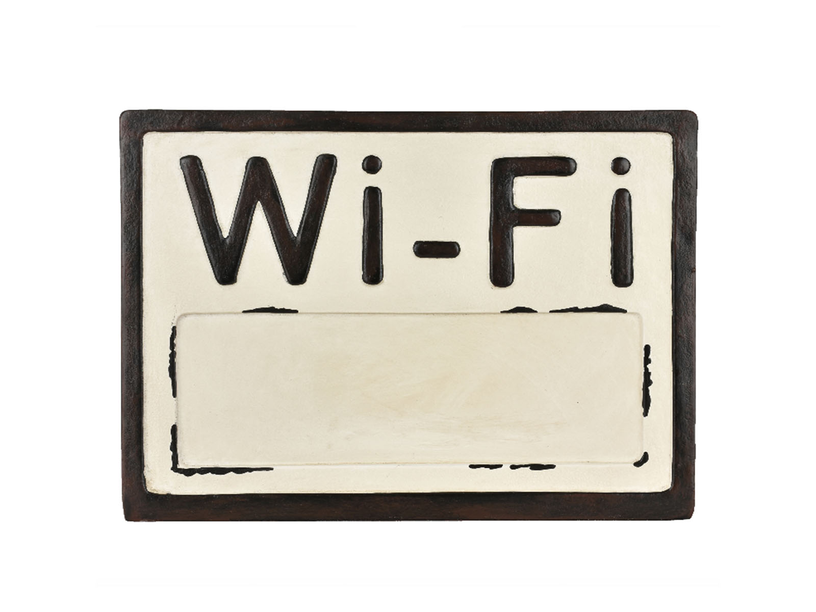 Better Homes & Gardens Tabletop Wifi Password Sign