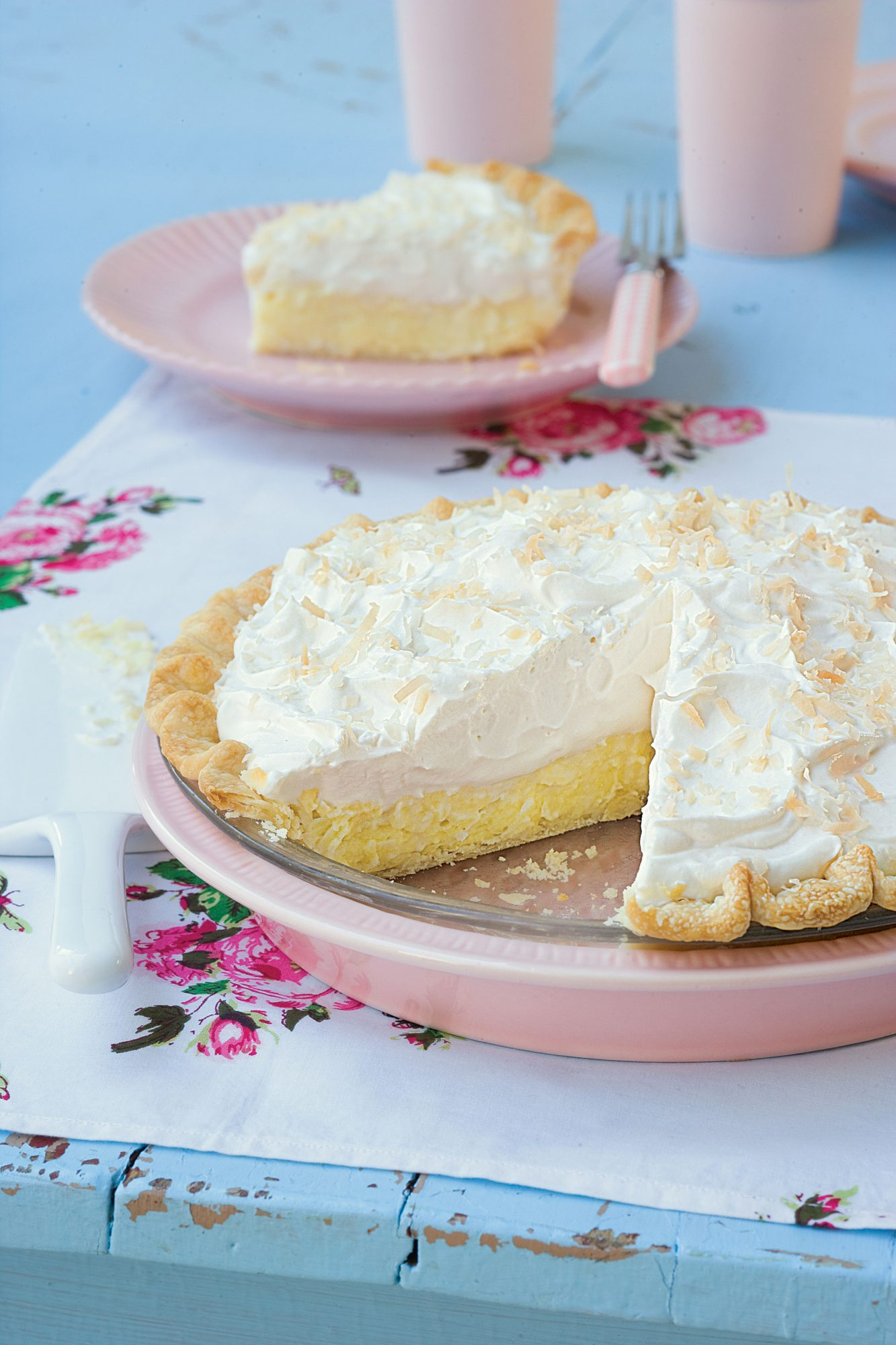 South Carolina Coconut Cream Pie