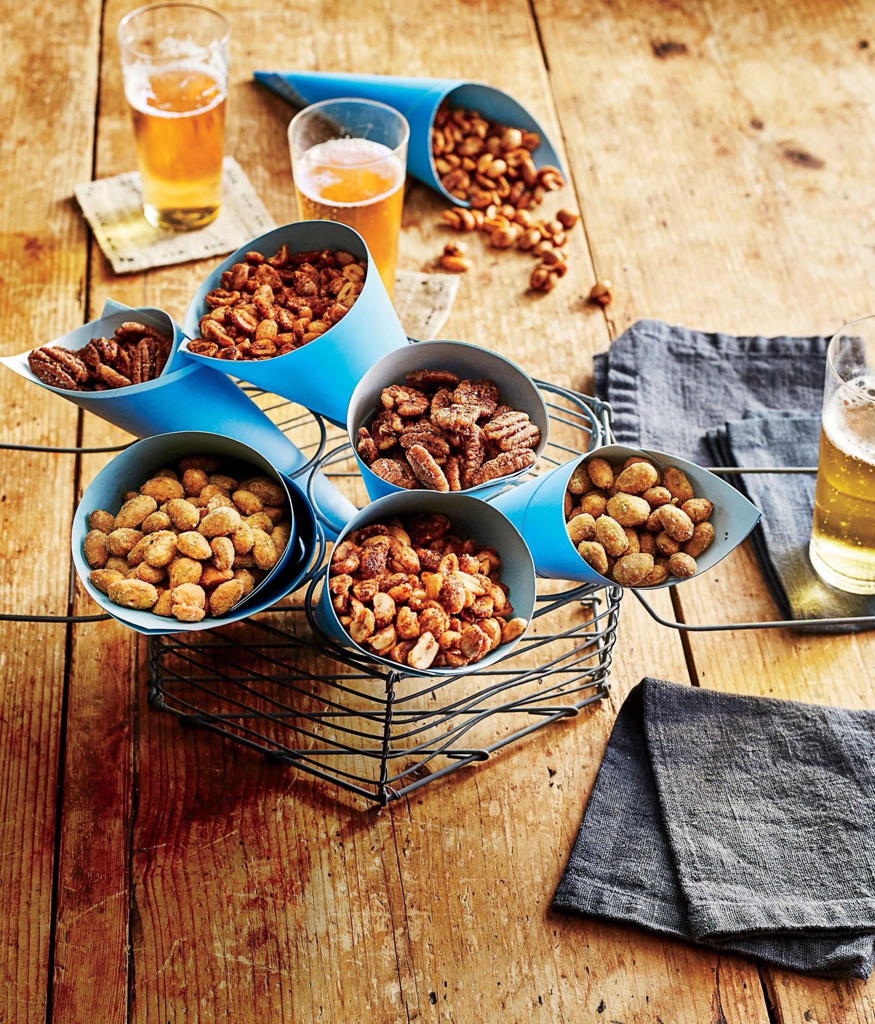 Five-Spice Fried Pecans