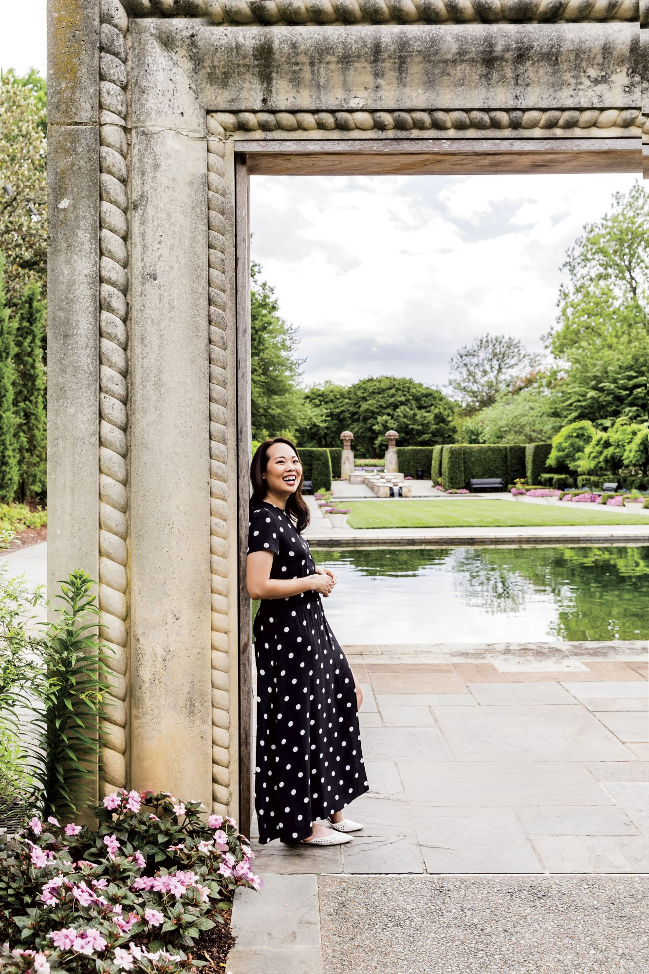 Michelle Tran at Dallas Arboretum