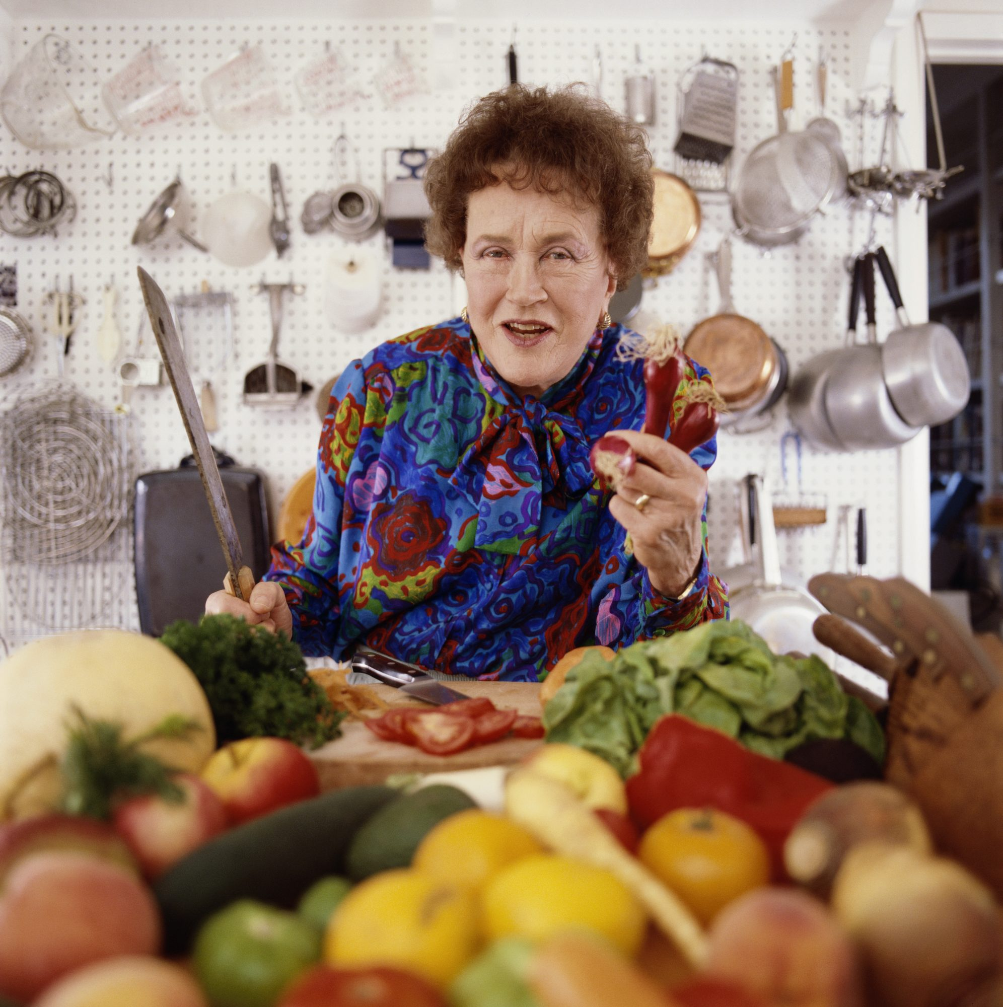 Celebrate Julia Child's 107th Birthday with a Trip to Her Kitchen