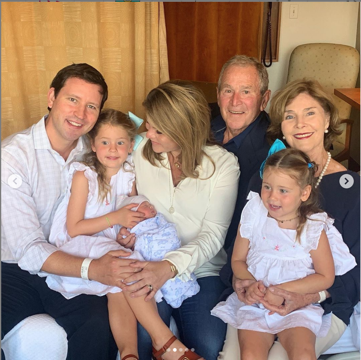 Jenna Bush Hager and Henry Hager Welcome Baby Hal
