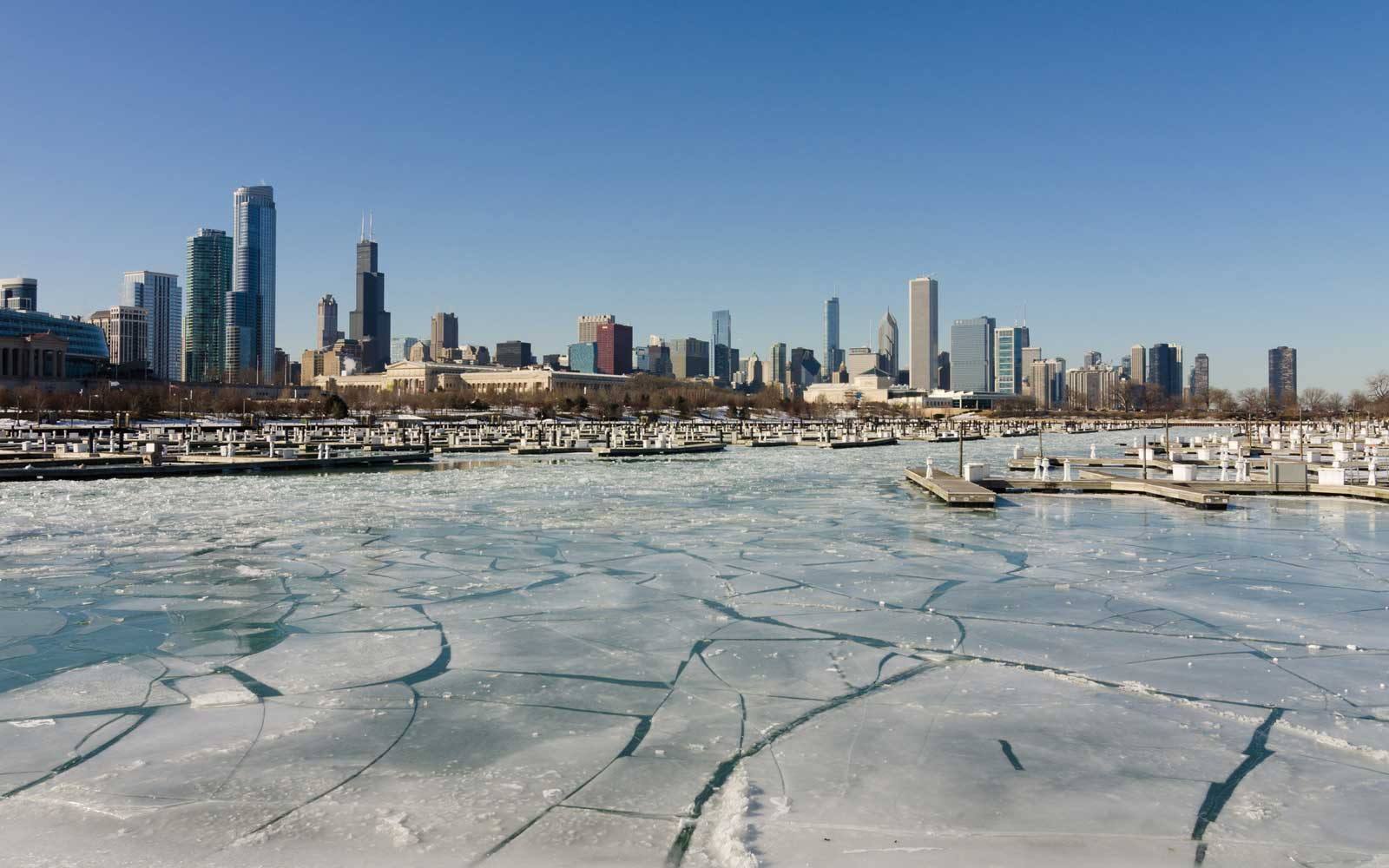 Cold, Chicago Winter
