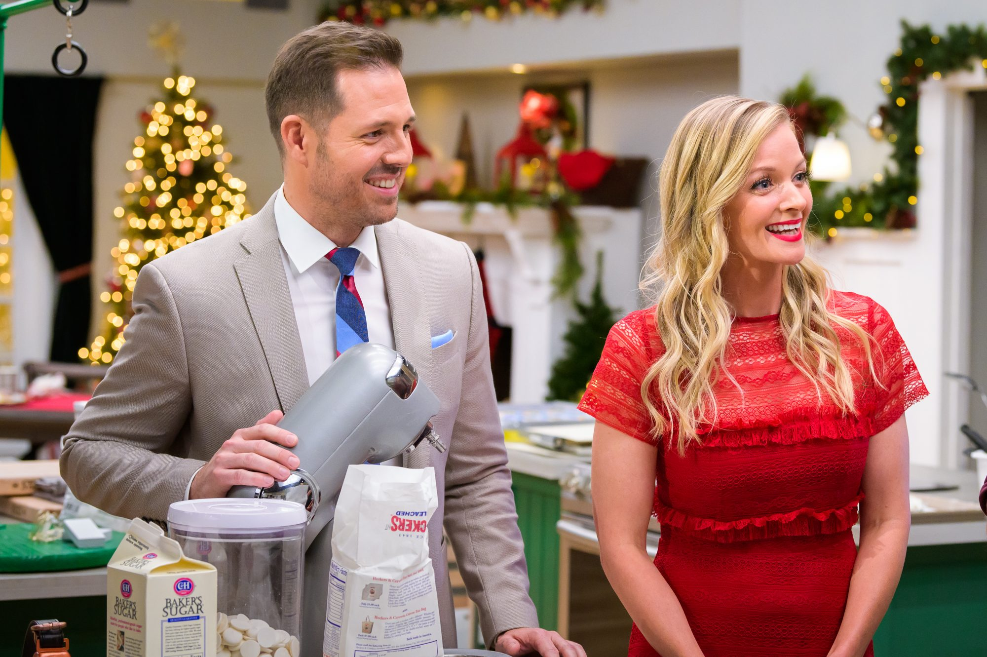 Hallmark Christmas Cookie Matchup Hosts