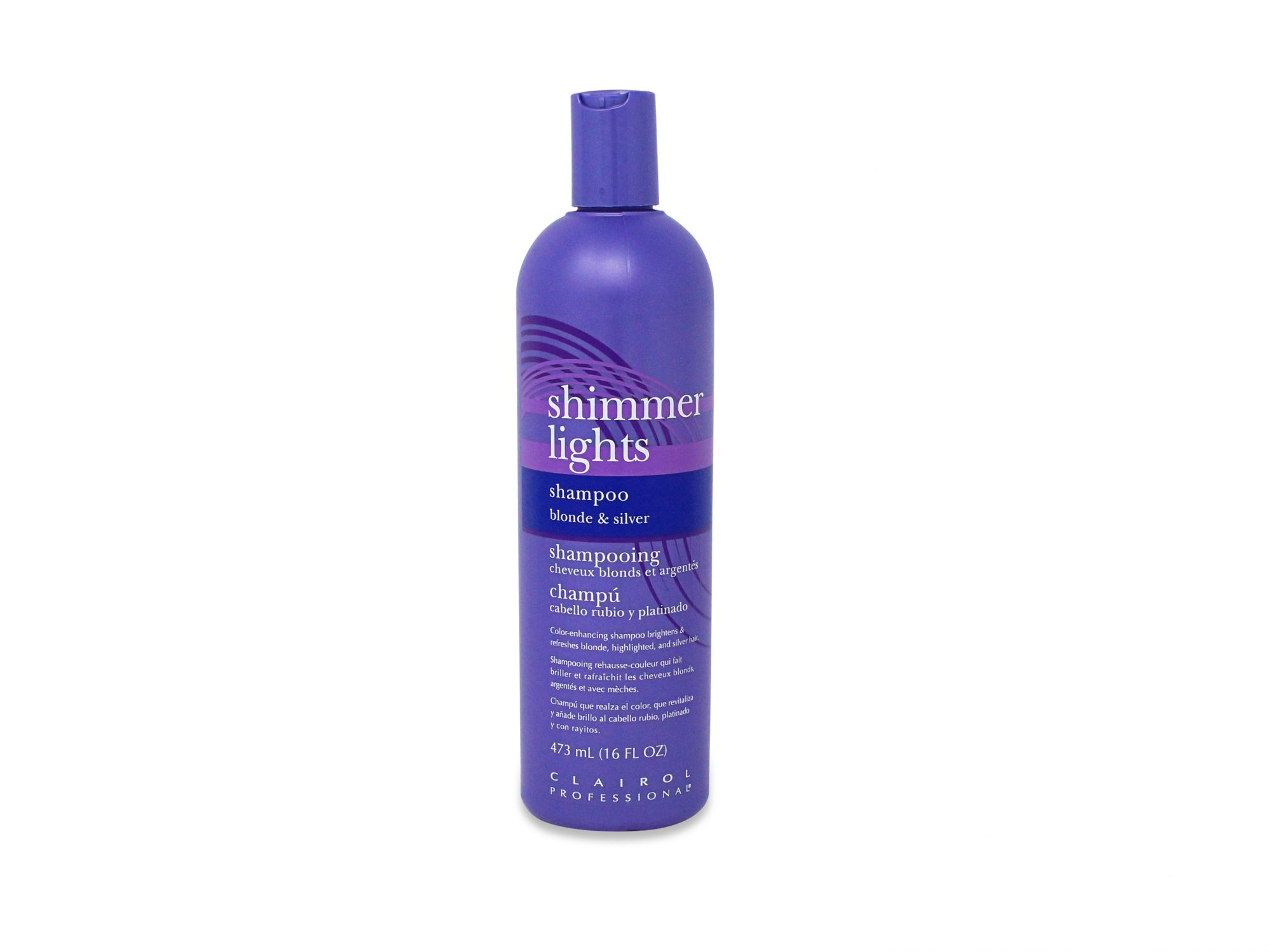 Clairol Professional Shimmer Lights Blonde and Silver Shampoo