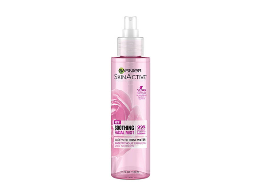 RX_1907 Skincare Mists_Garnier SkinActive Soothing Facial Mist with Rose Water