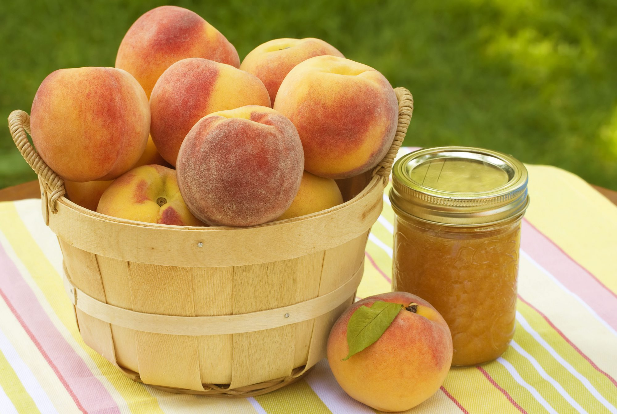 Peaches and Peach Preserve