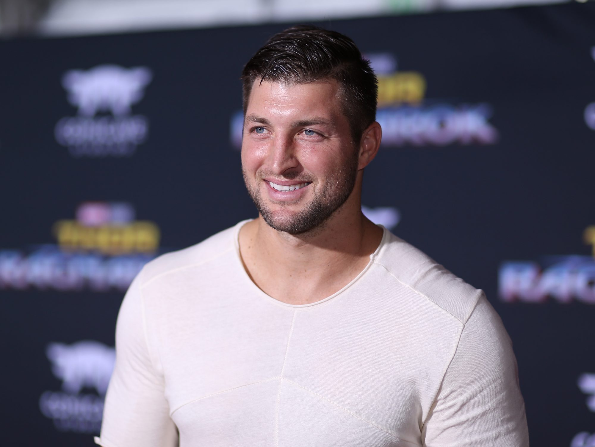 """WATCH: Tim Tebow Opens 10th """"Timmy's Playroom"""" in Florida Children's Hospital"""