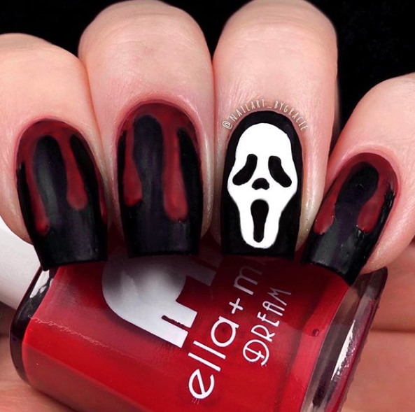 Blood Drip Nails