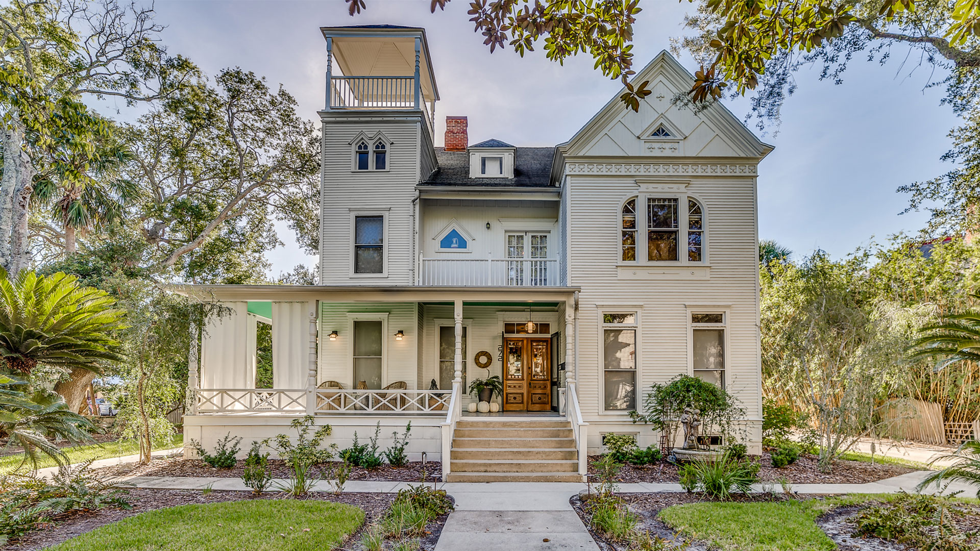This Historic Victorian in Beautiful St. Augustine is Dripping with Character