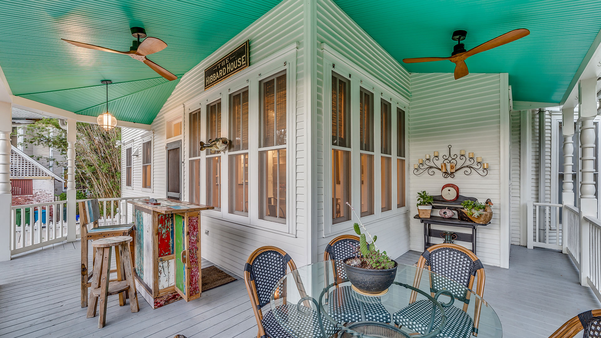 Hibbard House St Augustine Porch Dining