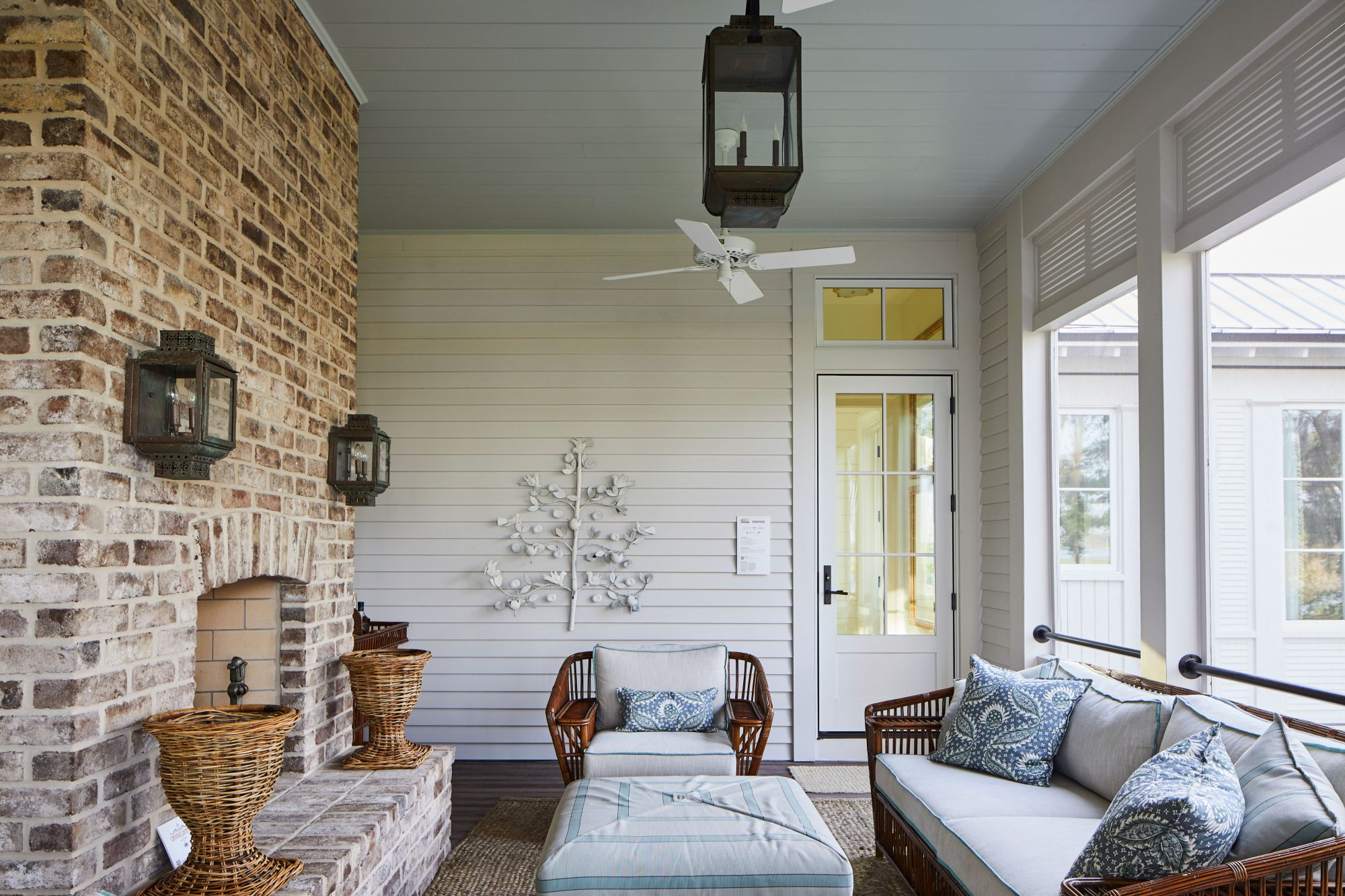 James Hardie Idea House Screened Porch Outdoor Living