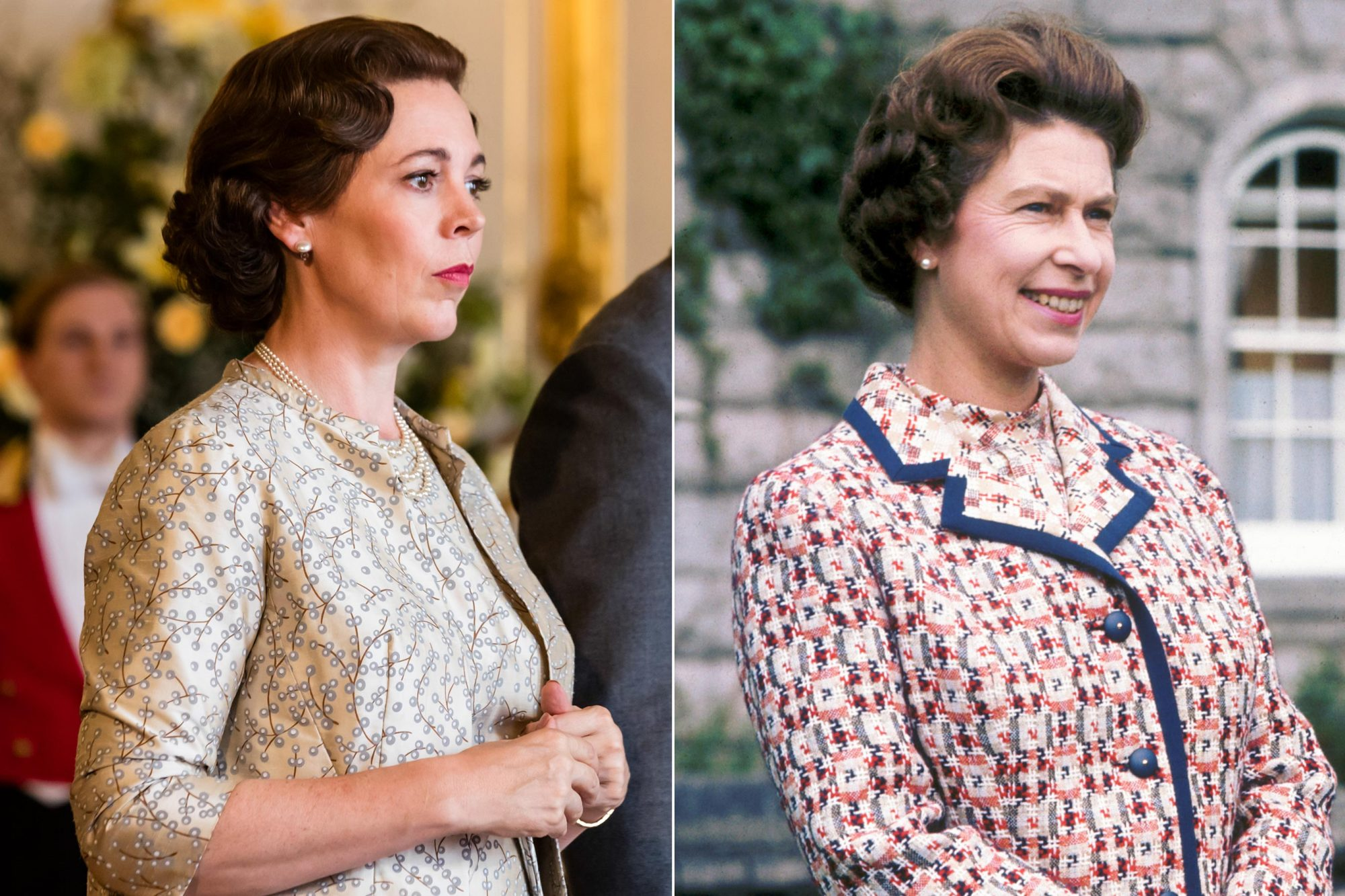 'The Crown' star Olivia Colman accidentally 'stumbled' into a meeting with the real Queen