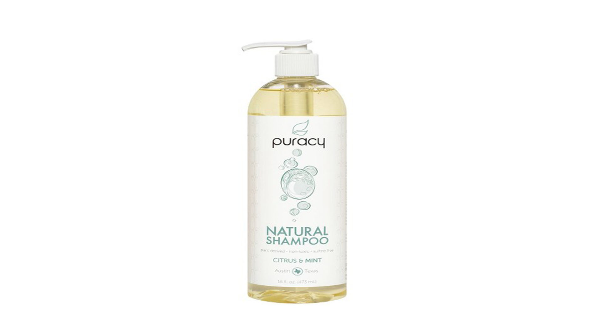 Puracy Citrus & Mint Sulfate-Free Natural Daily Shampoo