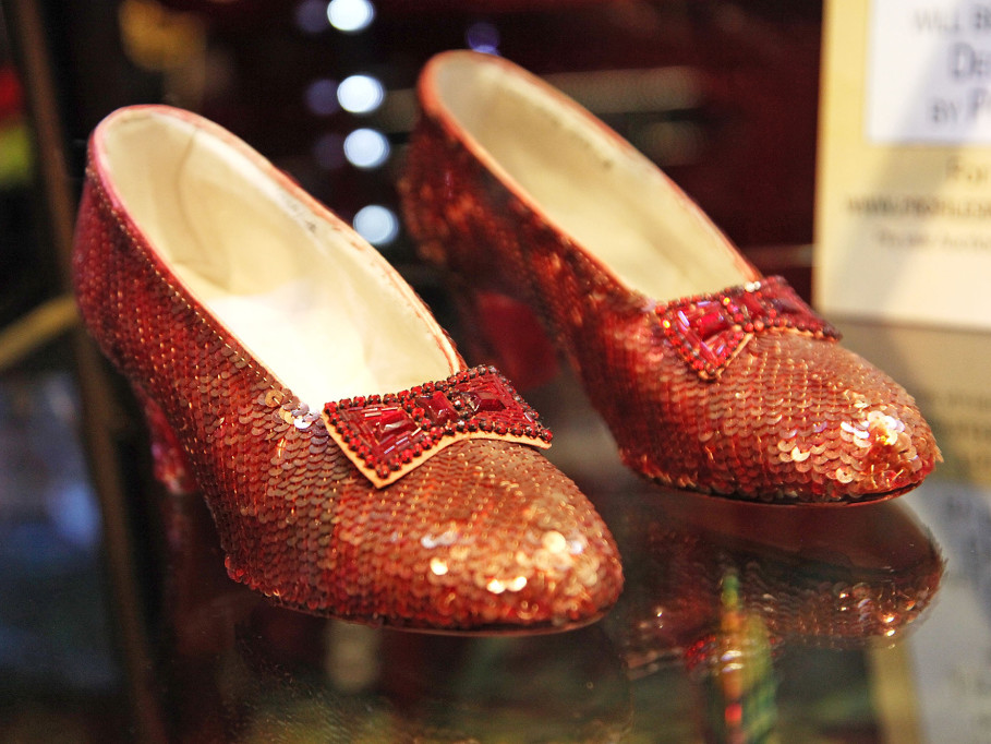 The Wizard of Oz's Ruby Slippers Became Iconic 80 Years Ago — And for Years, One Pair Was Lost ruby-slippers