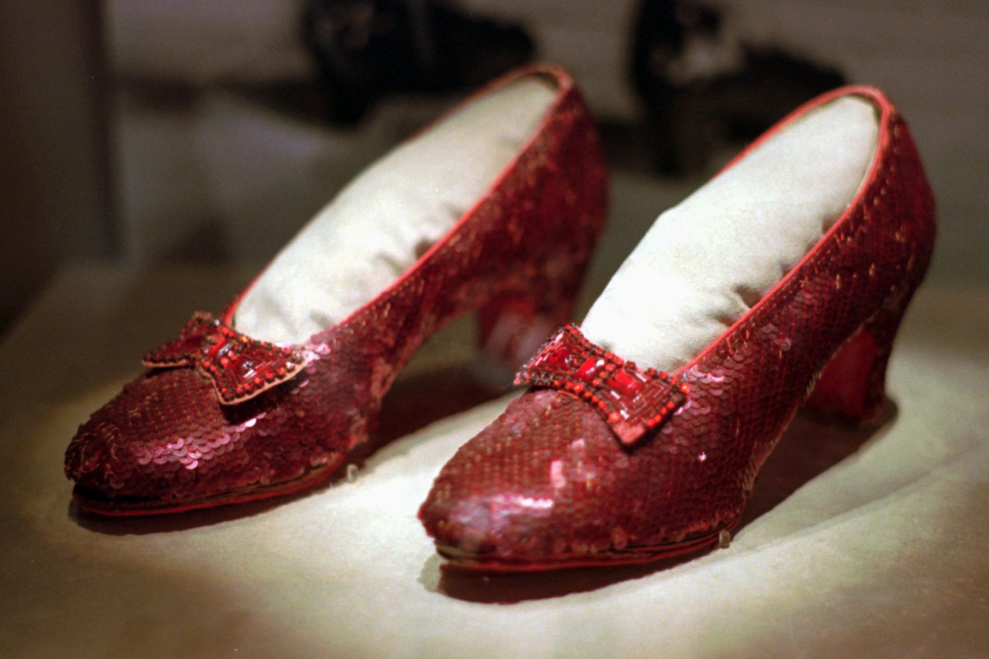 The Wizard of Oz's Ruby Slippers Became Iconic 80 Years Ago — And for Years, One Pair Was Lost shutterstock_editorial_6511615a_huge