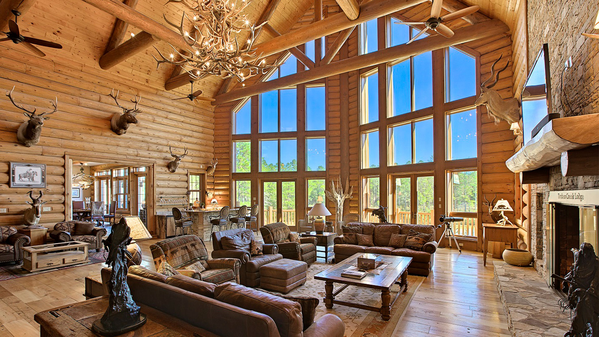 Timber Creek Lodge Florida Living Room