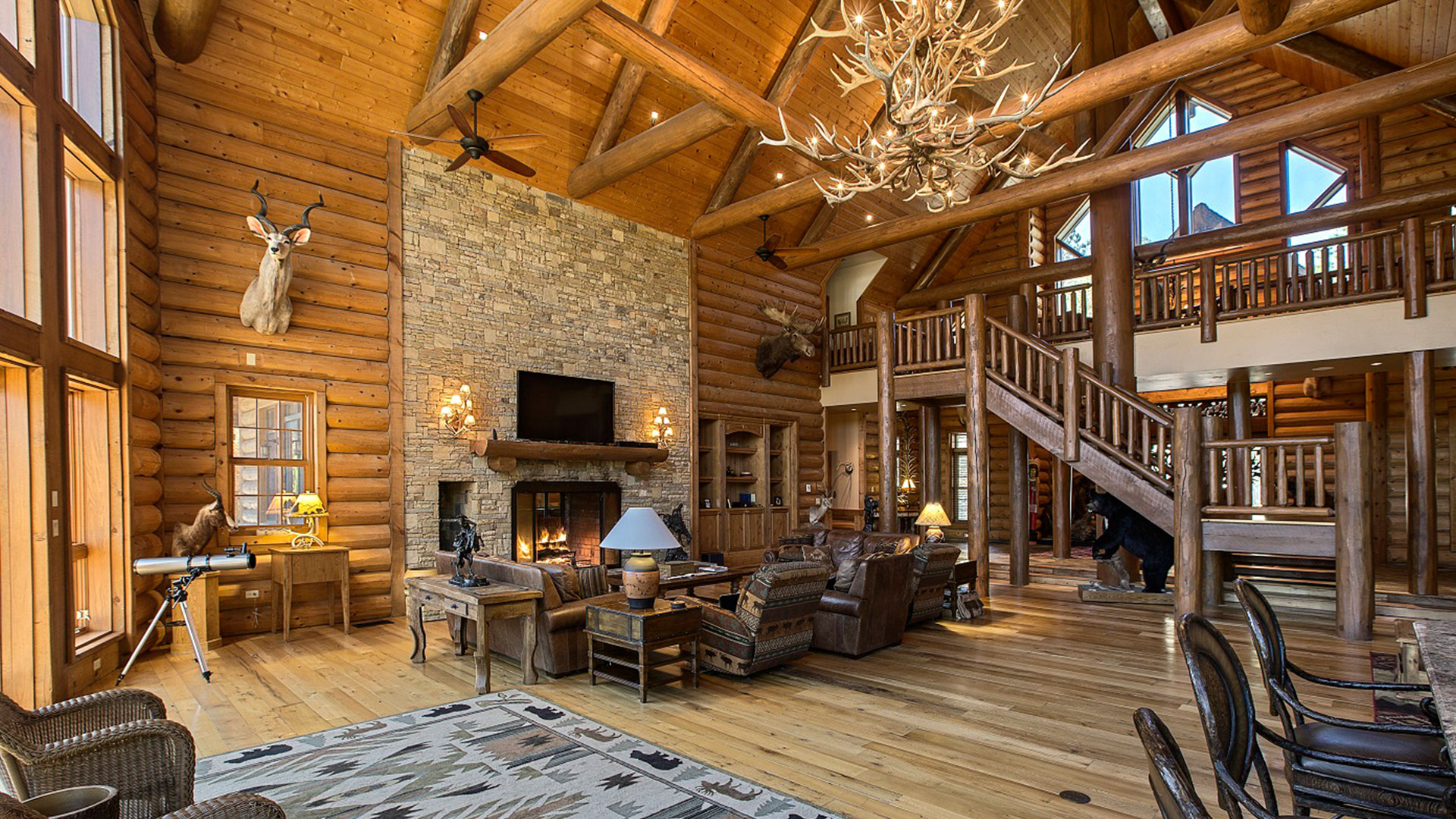 Timber Creek Lodge Florida Staircase