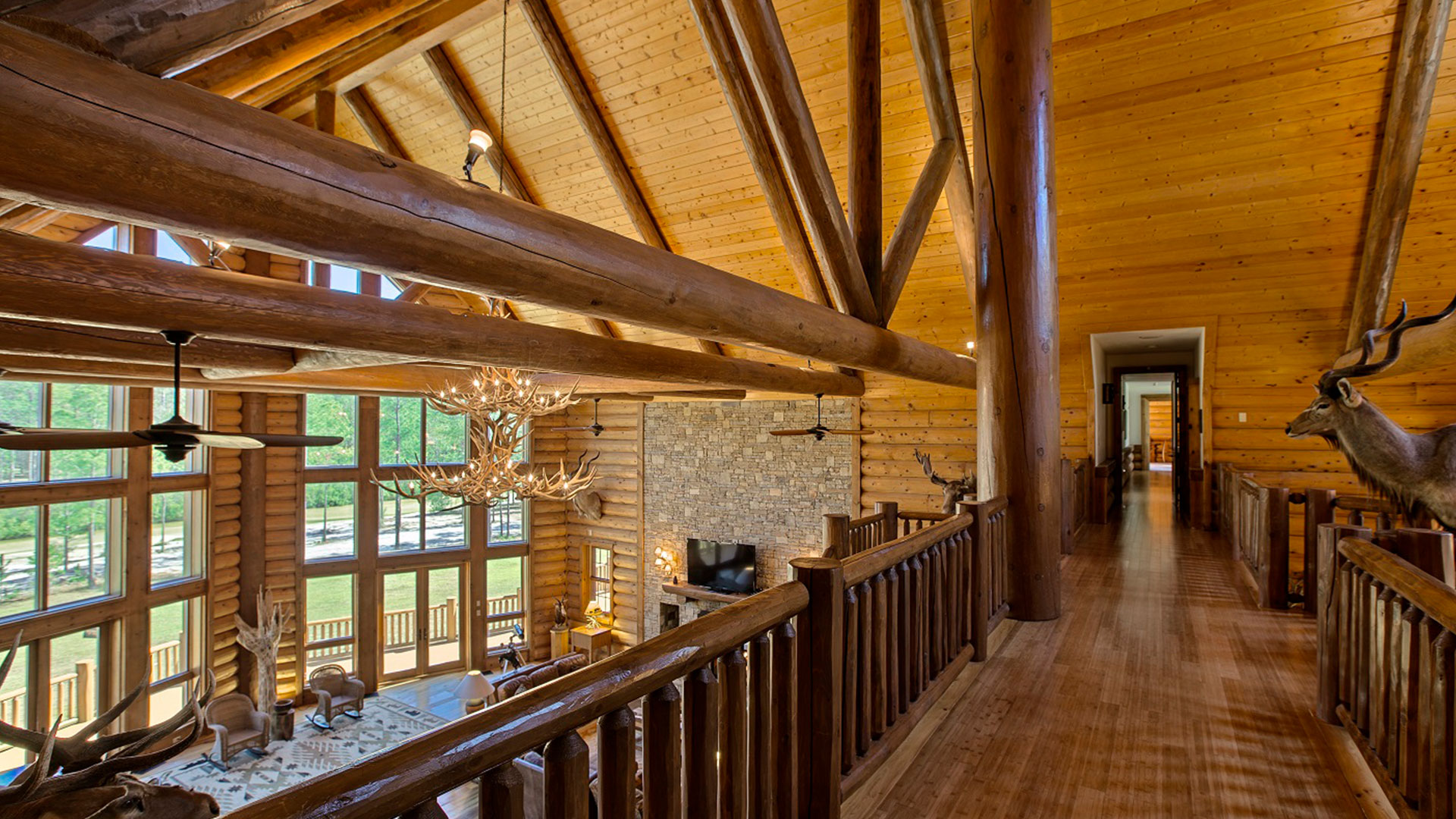 Timber Creek Lodge Florida Beams