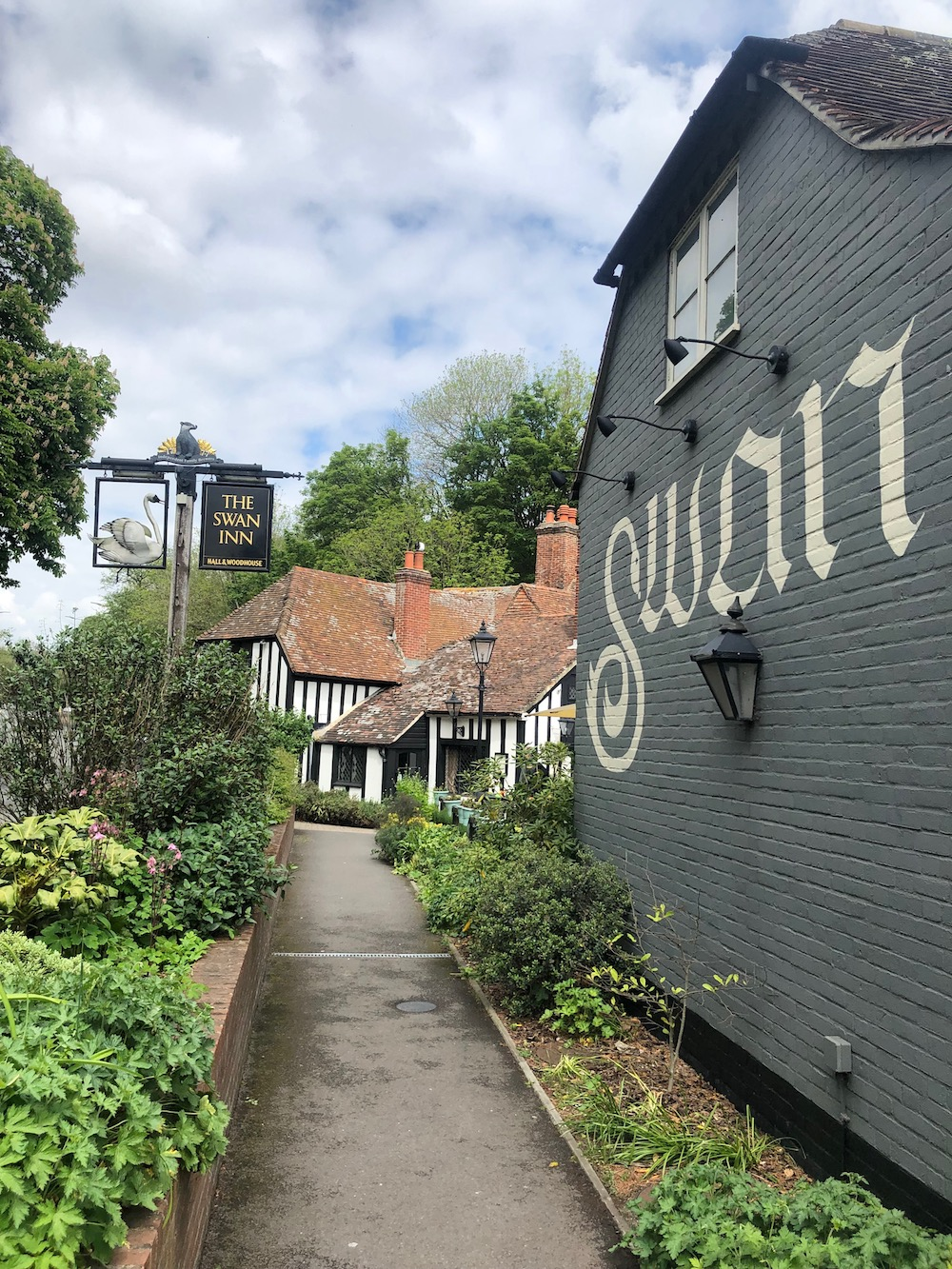 The Swan Inn From  Downton Abbey,  Lady Sybil and Tom Branson Eloping