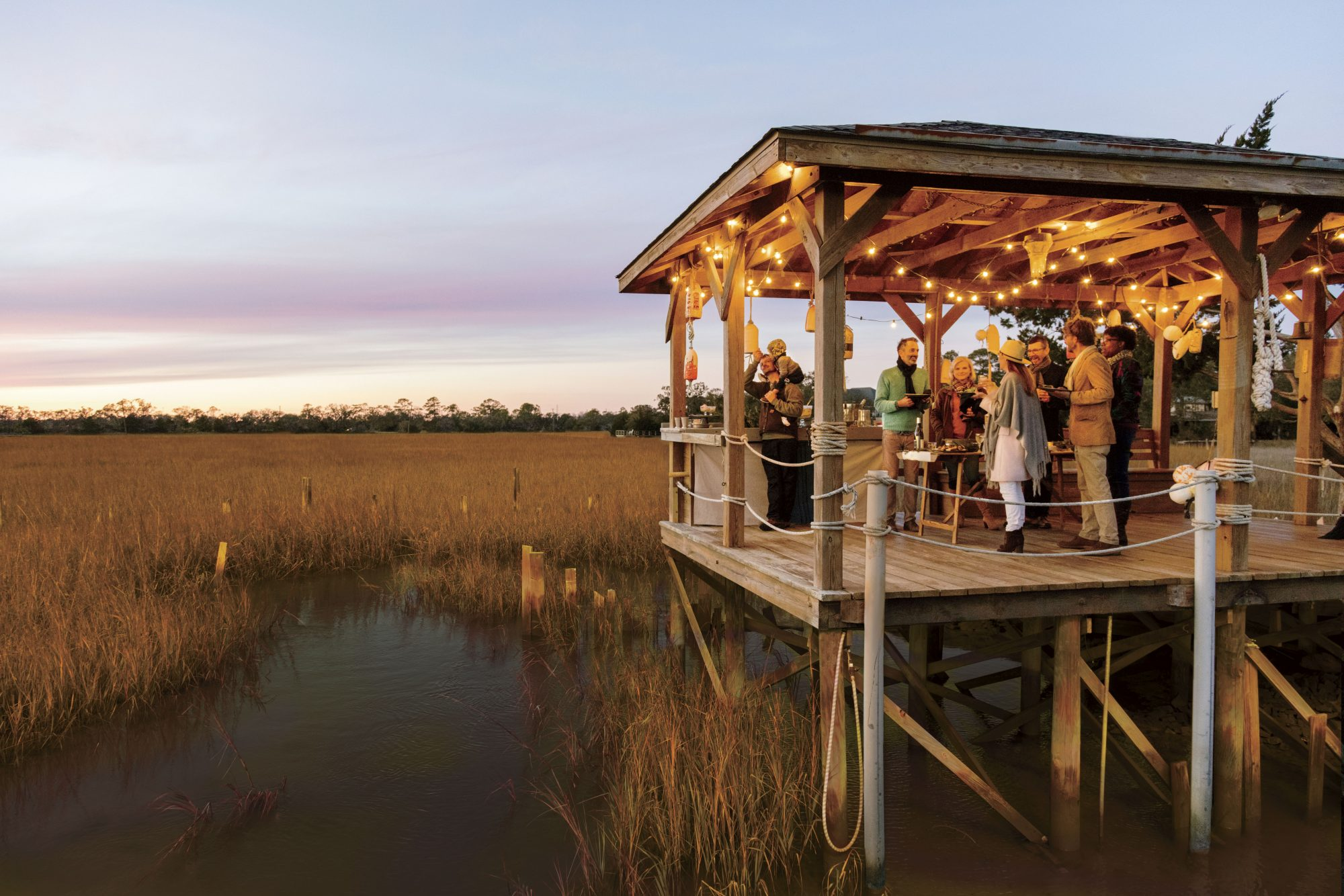 Chef Steven Satterfield's Lowcountry Oyster Roast