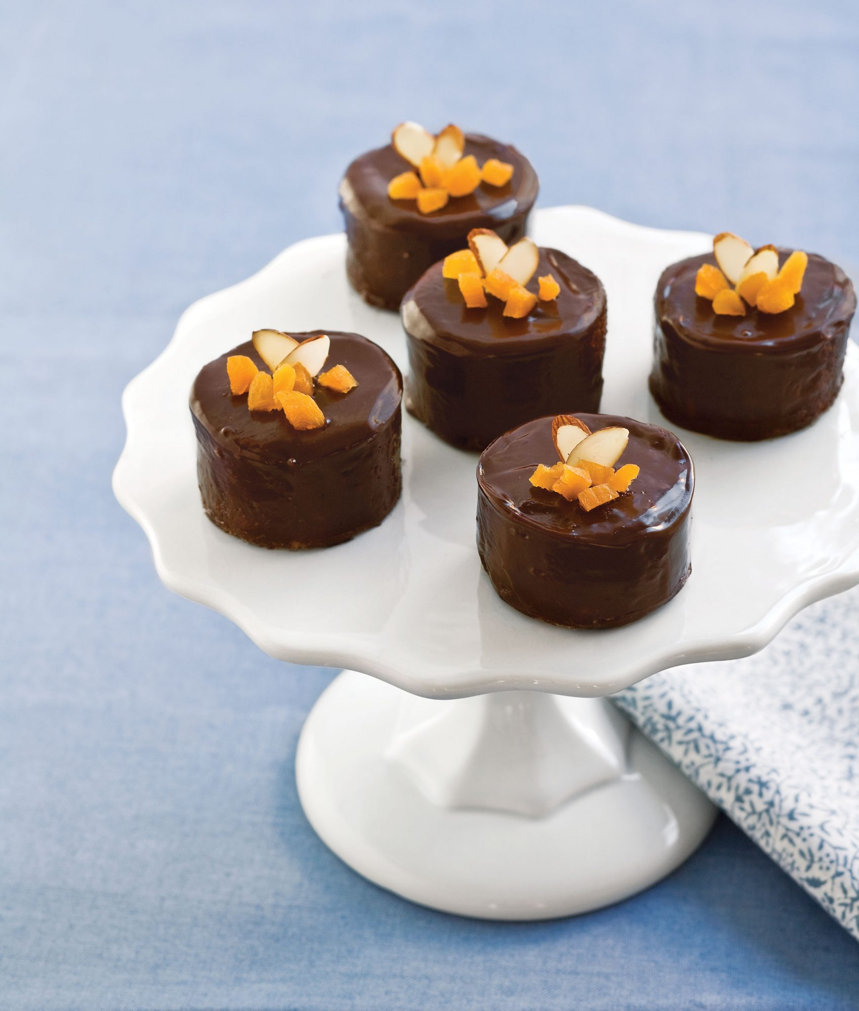 Chocolate-Almond Petits Fours