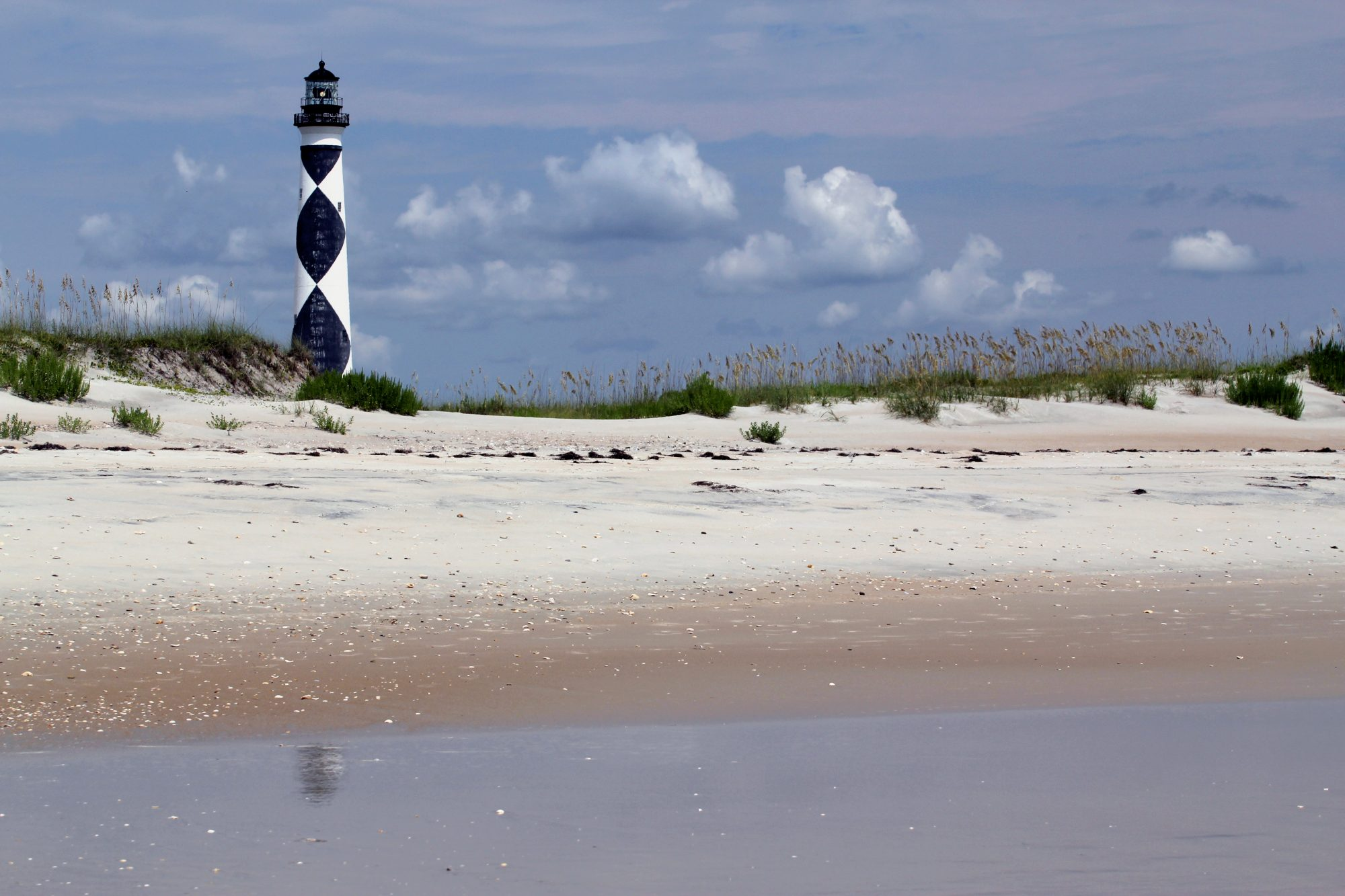 Cape Lookout Lighthouse and Beach