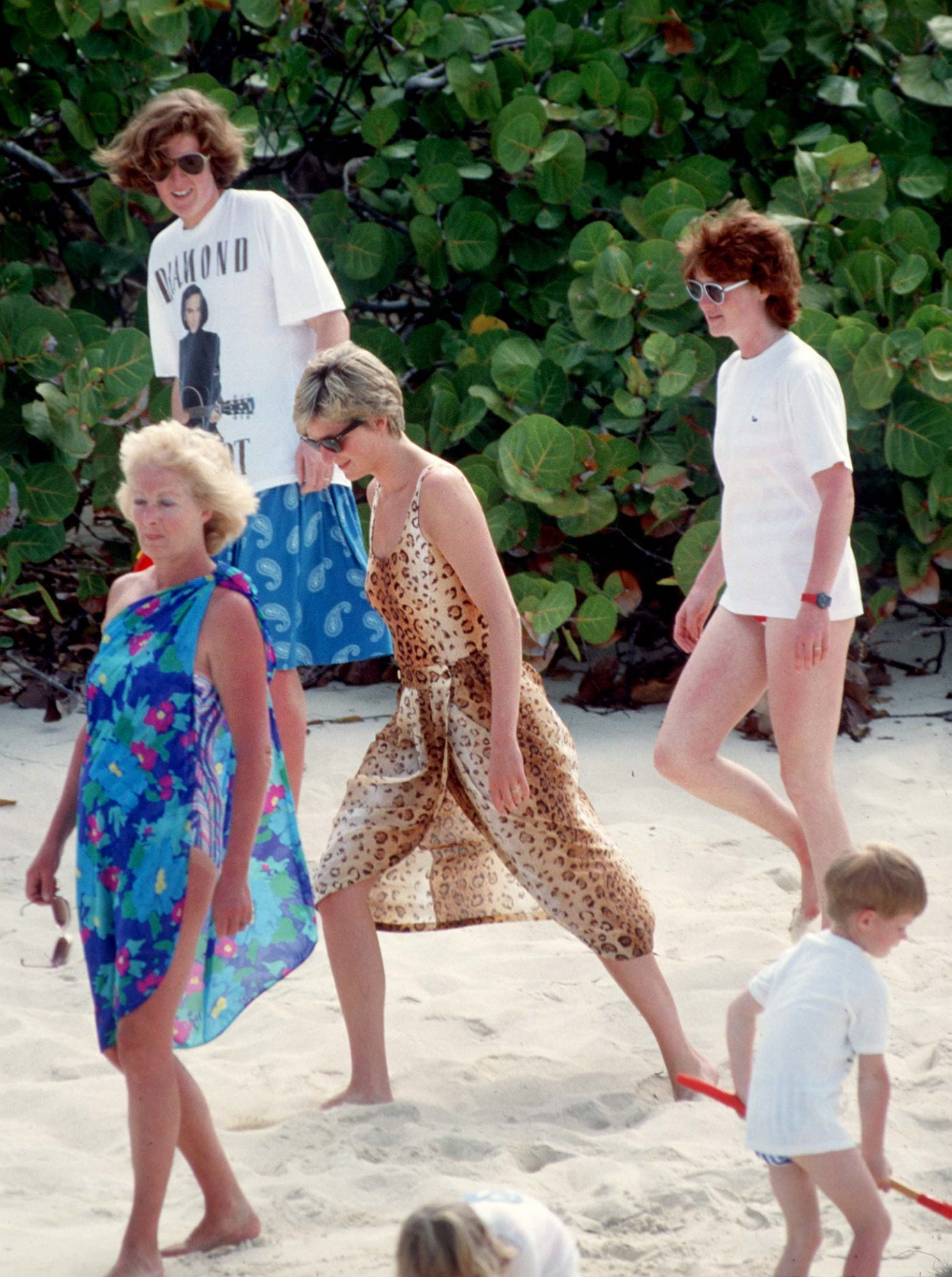 Princess Diana with Sisters and Mother