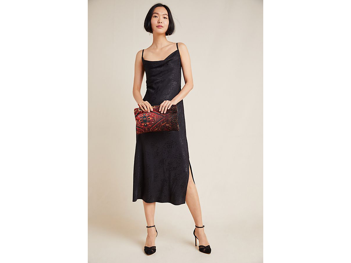 Amelie Jacquard Slip Dress