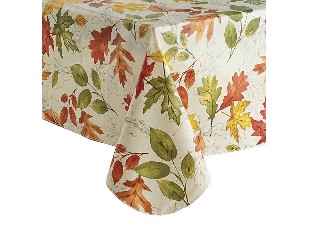 Autumnal Breeze Vinyl Tablecloth