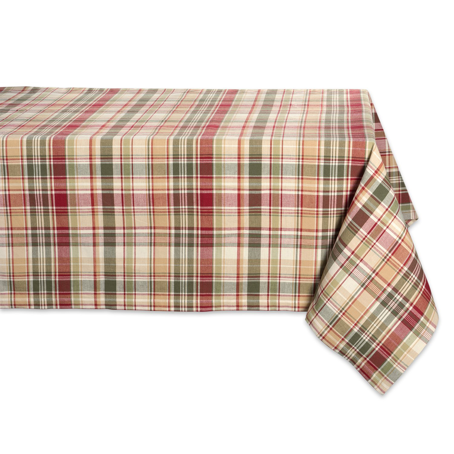 Cabin Plaid Square Tablecloth