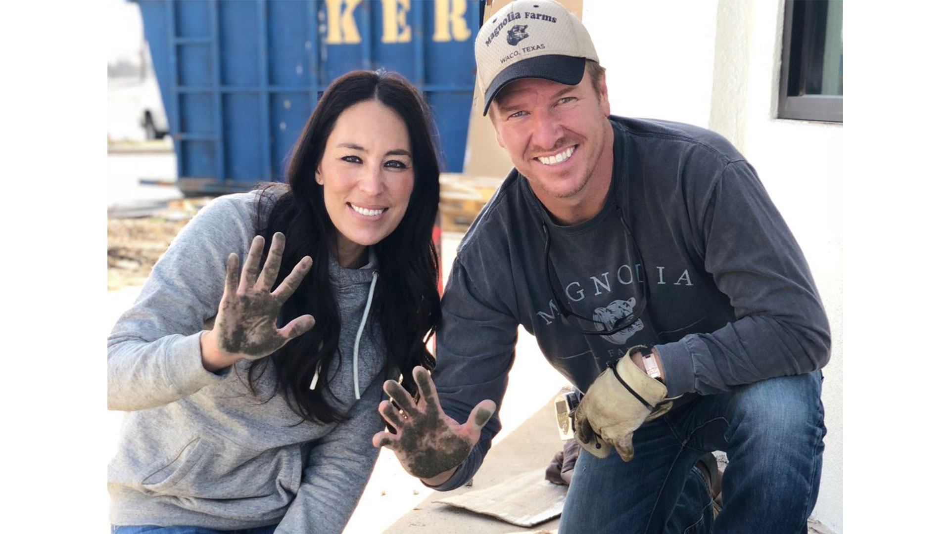 Chip and Joanna Gaines Cement