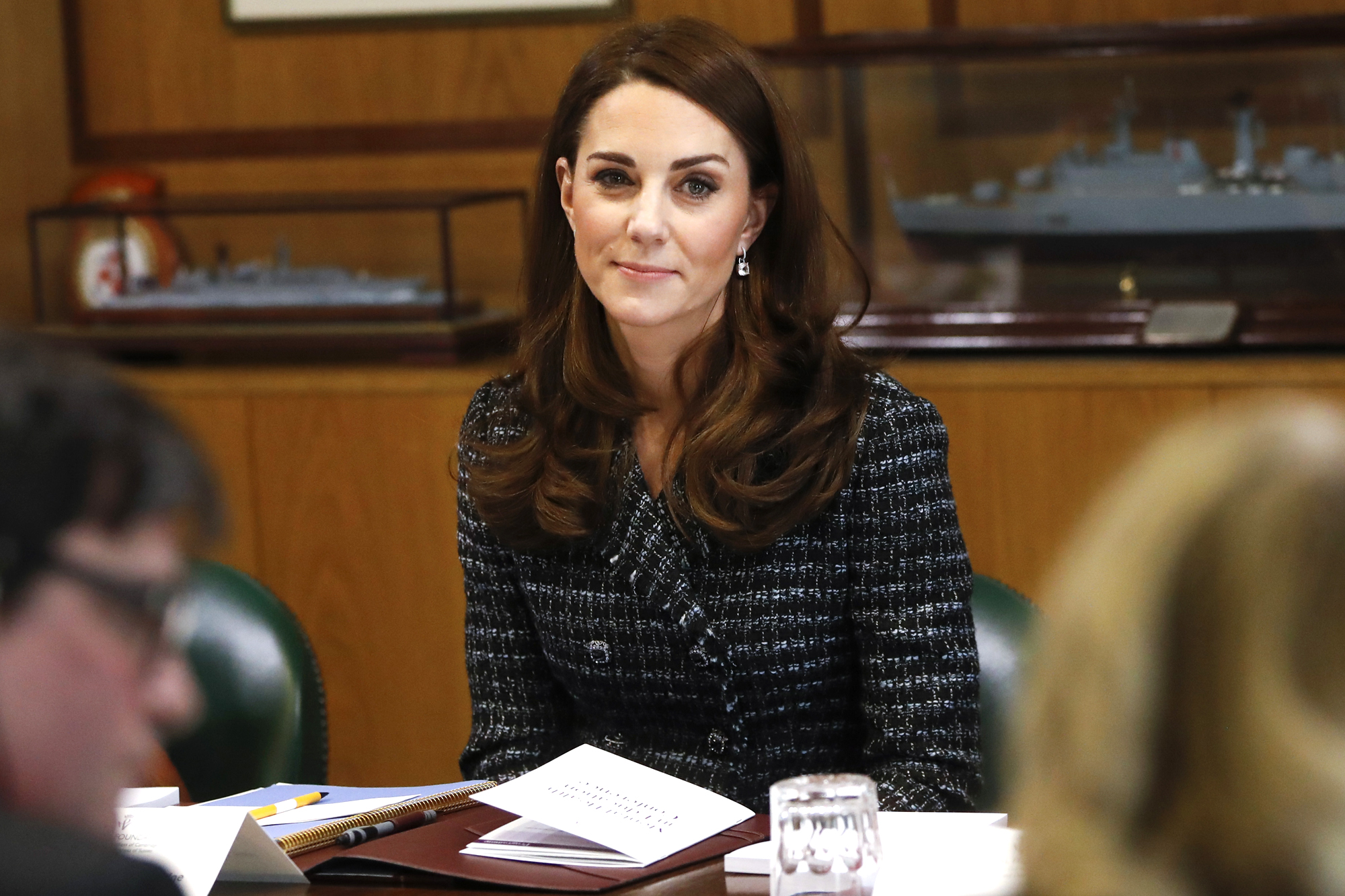 Kate Middleton Quietly Attended a (3-Hour!) Parent Meeting on Mental Health at Her Children's School duchess-cambridge-12-2000