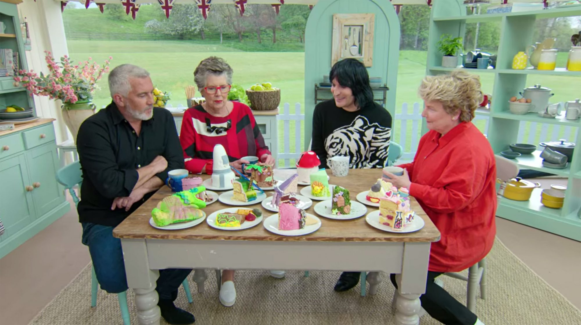 The Great British Baking Show Preps For Cake Week