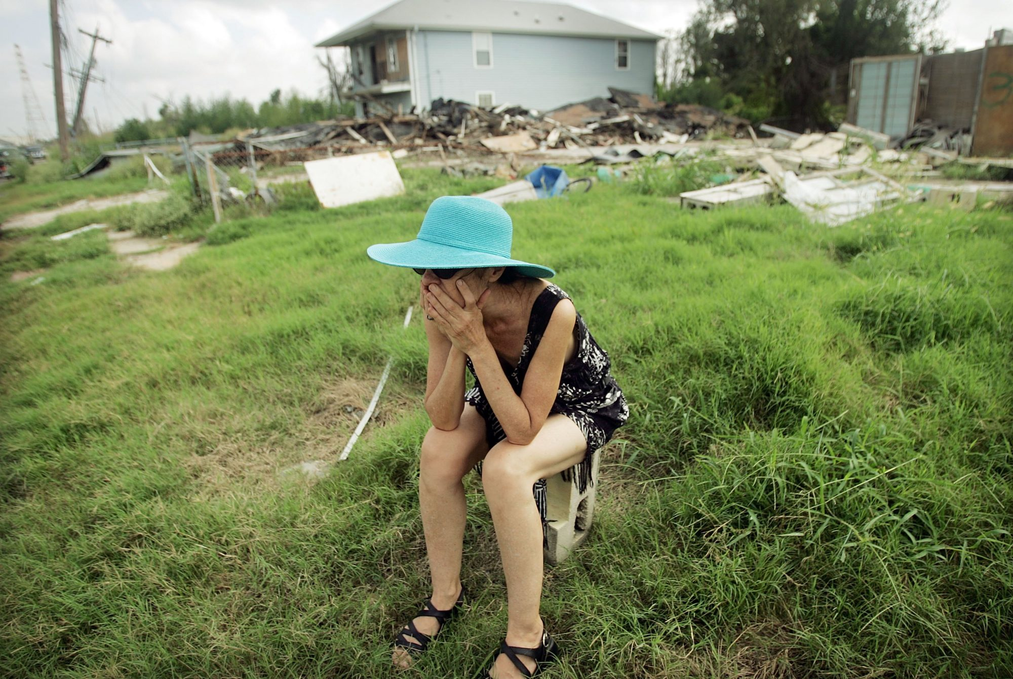 Woman After Hurricane Katrina