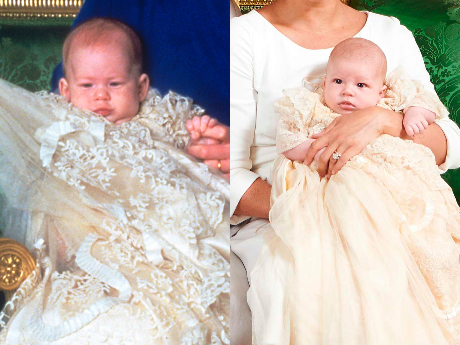 Prince Harry Christening and Archie Christening
