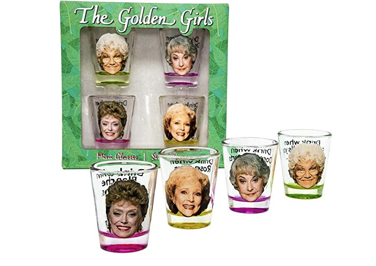 Golden Girls Shot Glasses