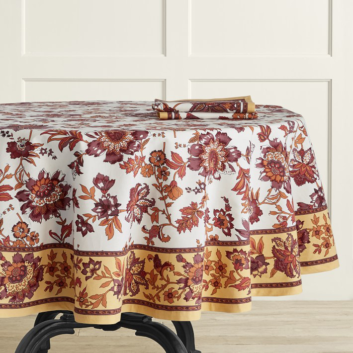 Jaipur Print Tablecloth