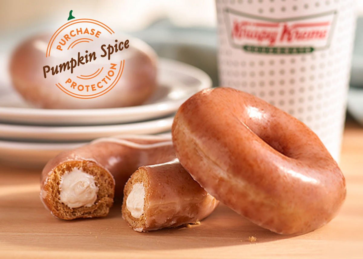 KRISPY KREME® Returns Popular Pumpkin Spice Original Glazed Doughnut and Introduces NEW Pumpkin Spice Original Filled Cheesecake Doughnut for This Week Only