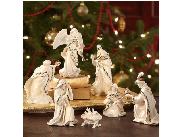 Lenox Holiday 7-piece Mini Nativity Set