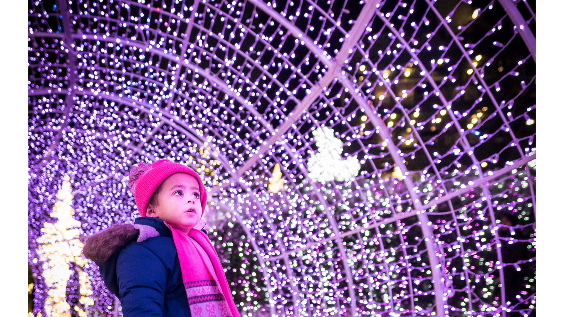 WATCH: Tickets for the World's Largest Christmas Light Maze Are on Sale Now