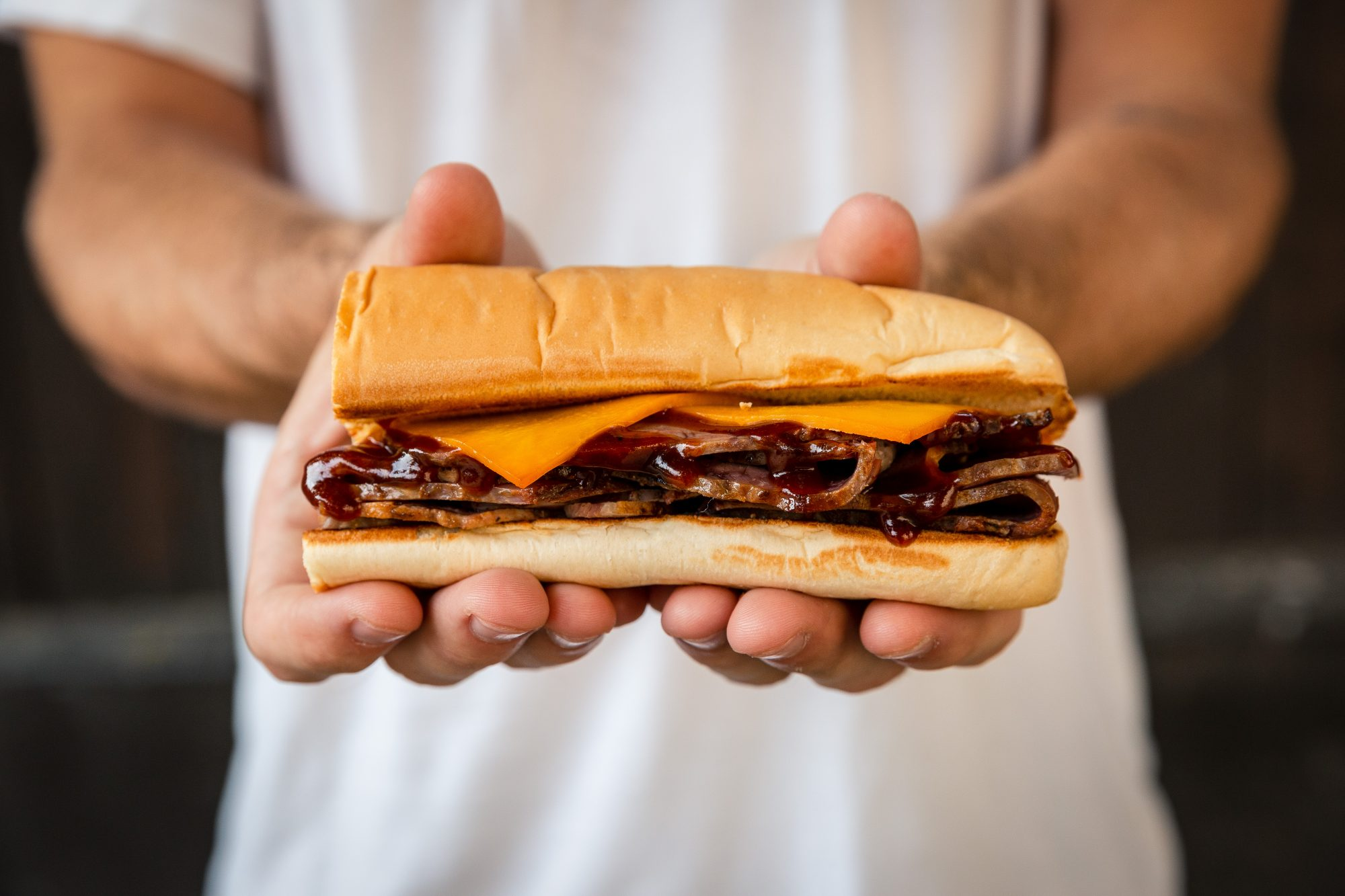 Subway Brisket Sandwich
