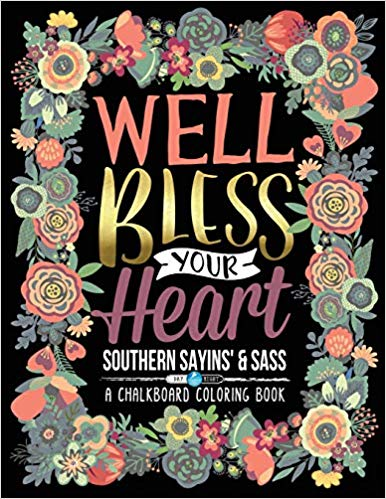 Southern Sayings Coloring Book