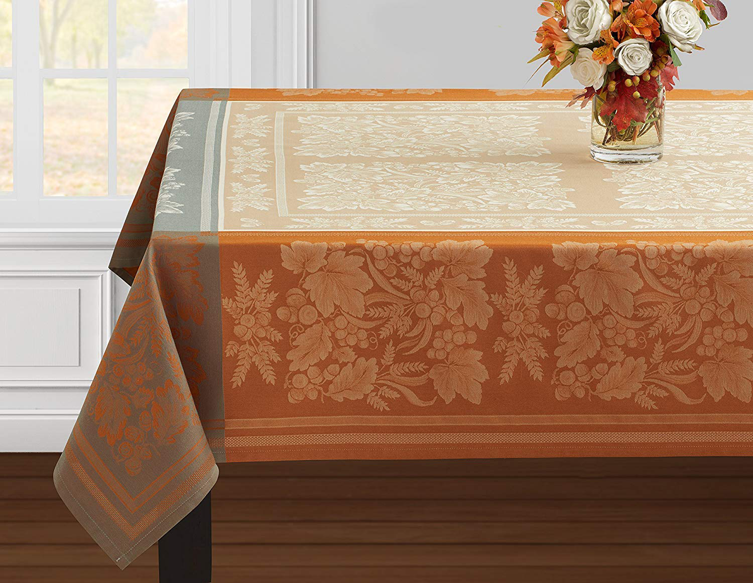Benson Mills Gathering Jacquard Tablecloth